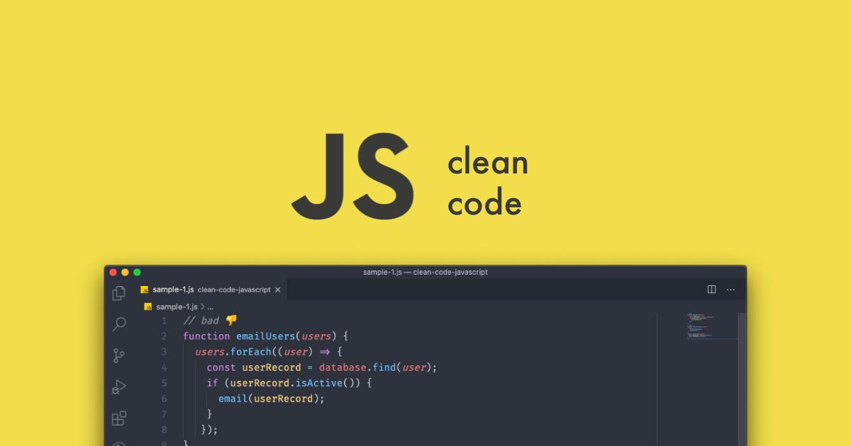Clean Code com JavaScript
